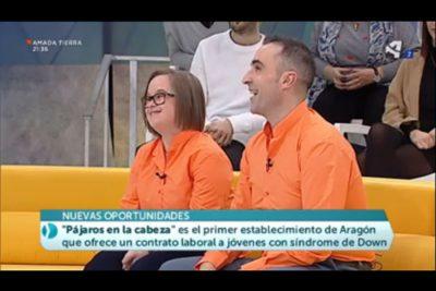 Alberto y María en Aragón en Abierto
