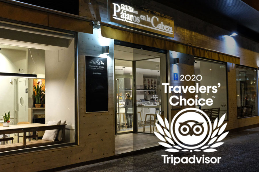 Premio Travellers Choice para Pájaros en la Cabeza